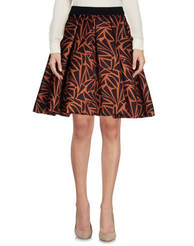EGGS Women's Knee length skirt Brown 4 US