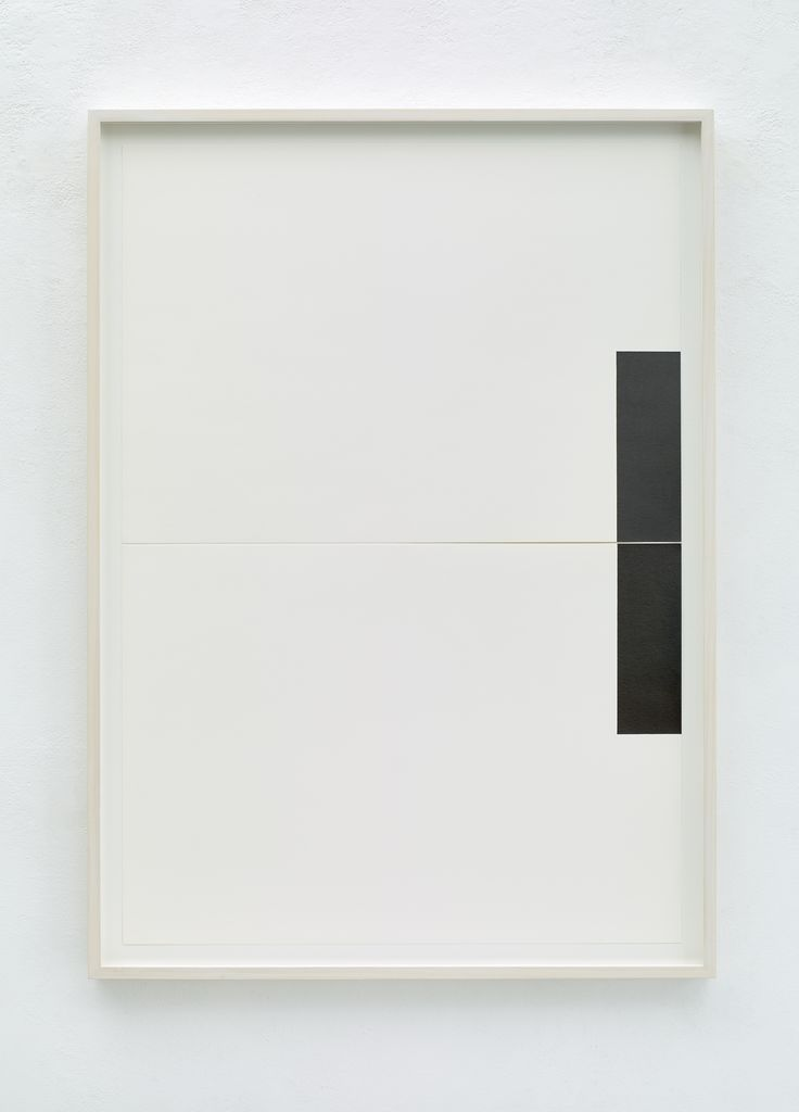 FRANK GERRITZ - Two Center Connection I, 2015 - Pencil on paper, 2 Part, Each 42 x 58.8 cm