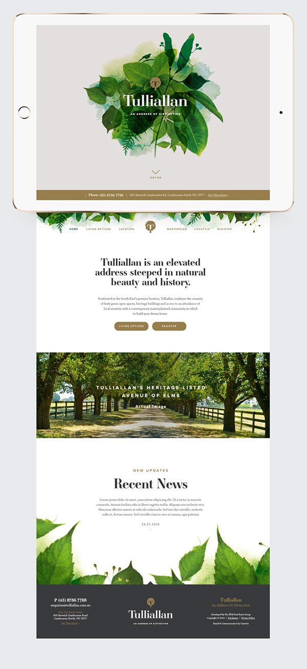 Tulliallan Branding & Identity on Behance