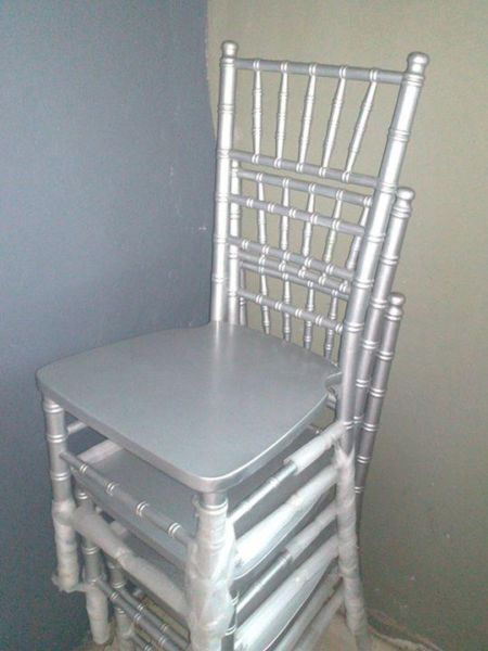 SILVER TIFFANY CHAIR FOR HIRE @ LOW PRICES | Inanda | Gumtree South Africa | 112118824