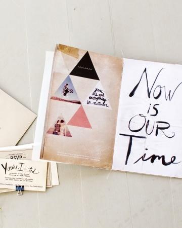 unique wedding invitations by Sea Change Studios via Martha Stewart Weddings
