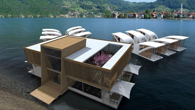 The Floating Hotel | Salt & Water