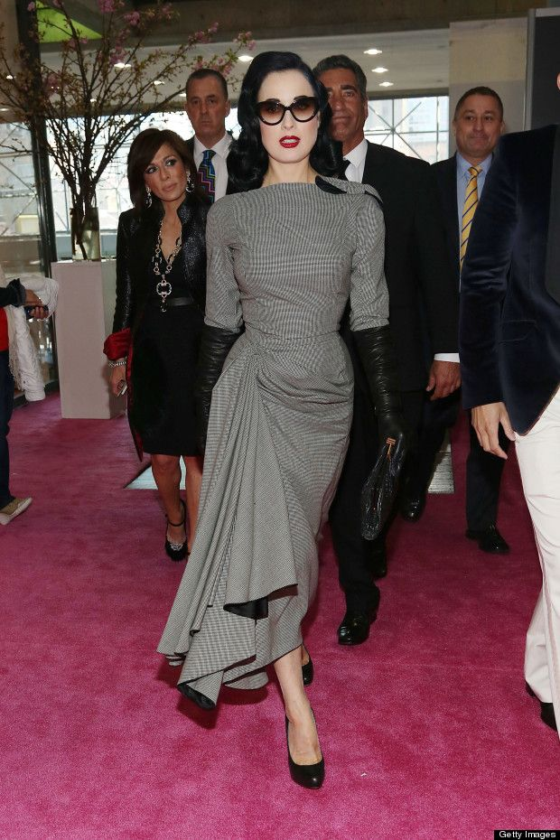 More about Dita Von Teese at IBS New York with Obliphica Professional!!  Check out Roni back there!!