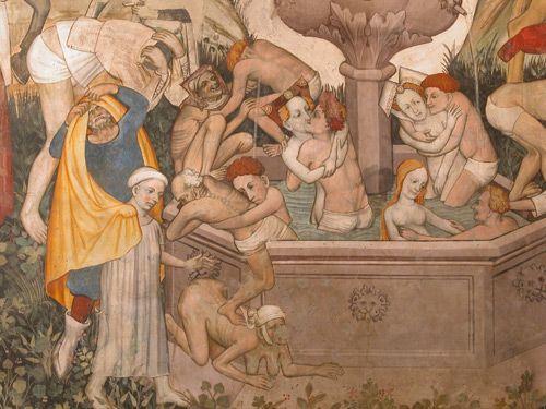 Fontana della Giovinezza - Castello della Manta di Saluzzo