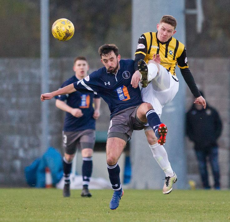 East Fife's Pat Slattery in action during the Ladbrokes League One game between East Fife and Queen's Park.