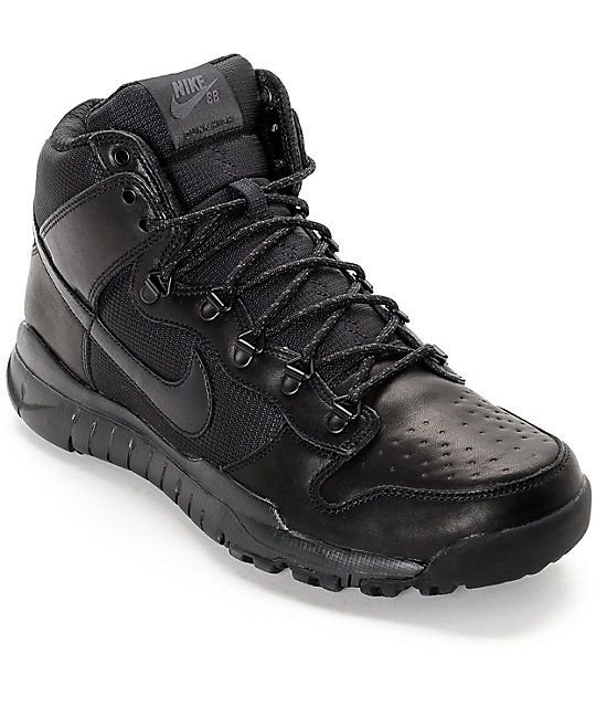 Nike SB Dunk High OMS All Black Shoes (addt'l 25% off) <$55.00> <approved>