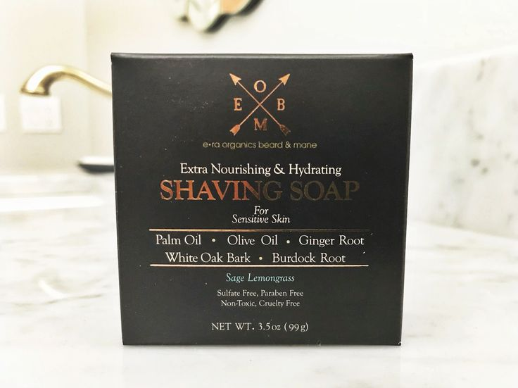 Shaving creams are loaded with harmful chemicals. Our shaving soap has olive oil which gives a close shave but doesn't strip your skin of nutrients. Get a closer, cleaner shave!