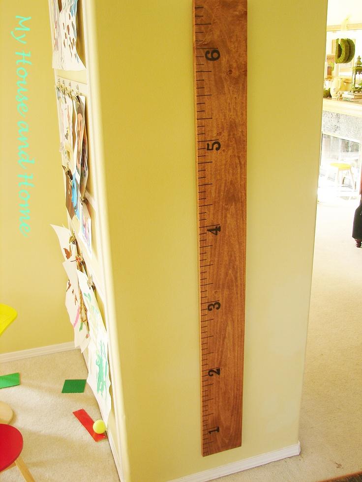 DIY Wall Ruler