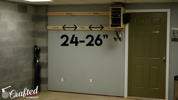 Mount the Bike Hooks on Your 2x4s