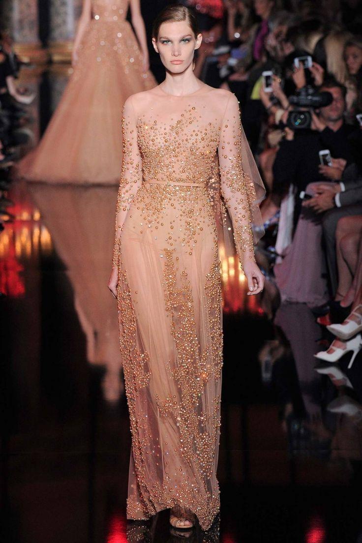 Коллекция Elie Saab Haute Couture осень-зима 2014/15