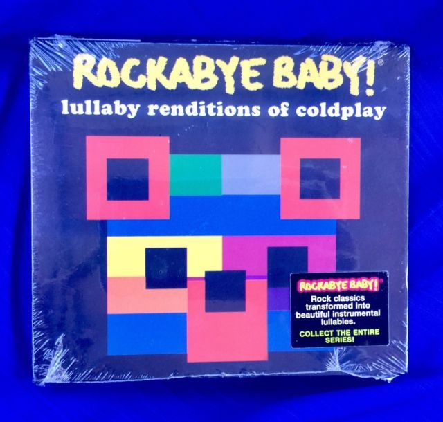 ROCKABYE BABY! Lullaby Renditions of Coldplay CD 2006 Baby Rock Records **New** | eBay