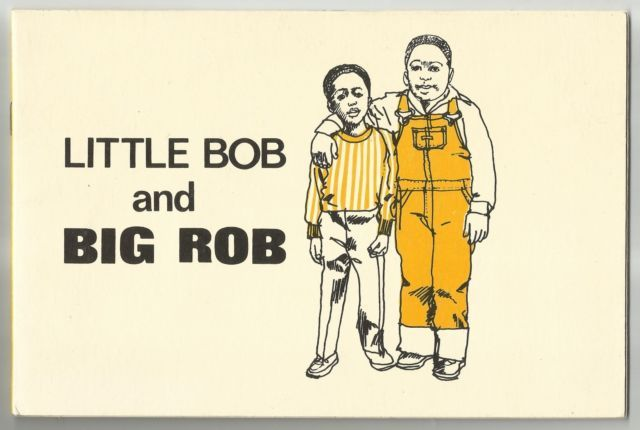 Vintage 1973 Little Bob And Big Rob Alvin Granowsky Paperback Book Early Reading | eBay