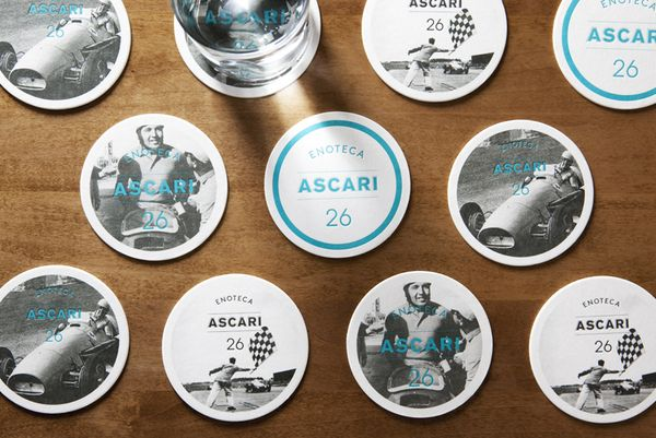 Enoteca Ascari by Blok Design , via Behance