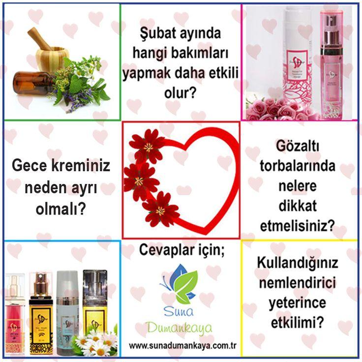 """Şubat ayına hangi bakımları yapmalısınız? Sevgililer gününe özel süprizler, hepsi www.sunadumankaya.com.tr""""de..."""