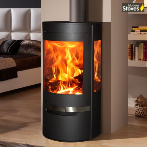 Details About Suerte Wood Burning Stove 3 Sided