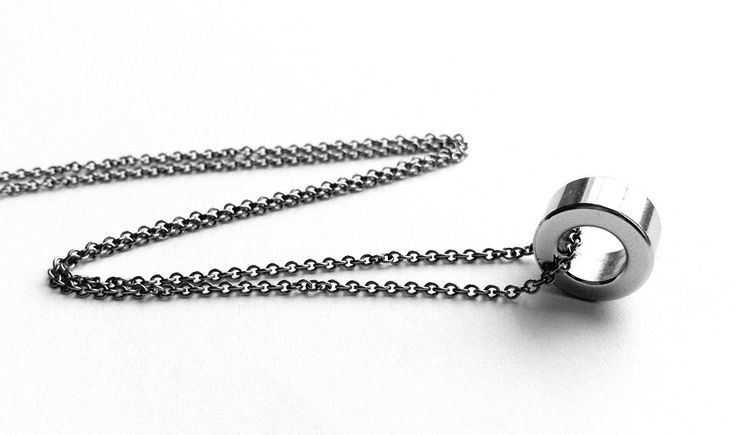 Stainless Steel Necklace, Mens Necklace, Jewelry for Man, Everyday Necklace, Stainless Steel Jewelry, Everyday Jewelry. $29.99, via Etsy.