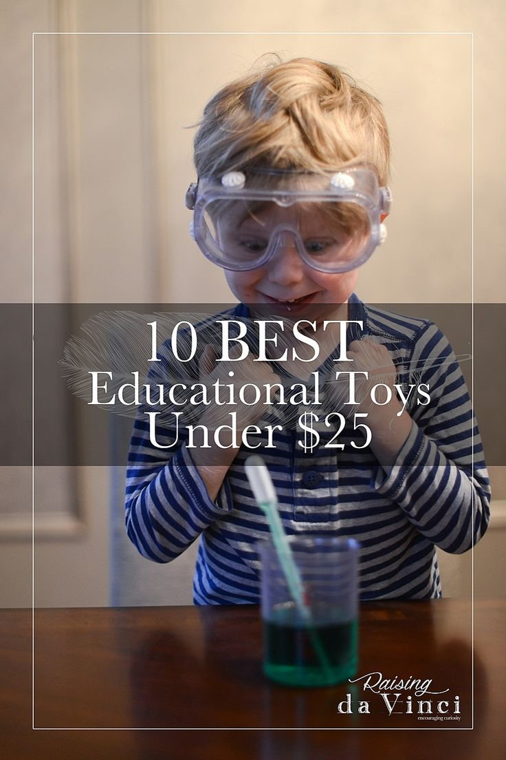 10 Best Educational Toys Under $25