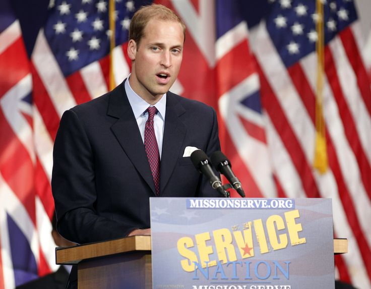 Britain's Prince William speaks at the Mission Serve: Hiring Our Heroes event in Culver City, California July 10, 2011. Prince William and his wife Catherine are on a royal visit to California from July 8 to July 10. REUTERS/Danny Moloshok (UNITED STATES - Tags: POLITICS ROYALS ENTERTAINMENT) via @AOL_Lifestyle Read more: https://www.aol.com/article/entertainment/2017/06/19/prince-william-grenfell-tower-visit/22489423/?a_dgi=aolshare_pinterest#fullscreen