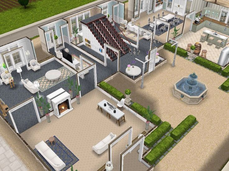 House 111 level 1 #sims #simsfreeplay #simshousedesign