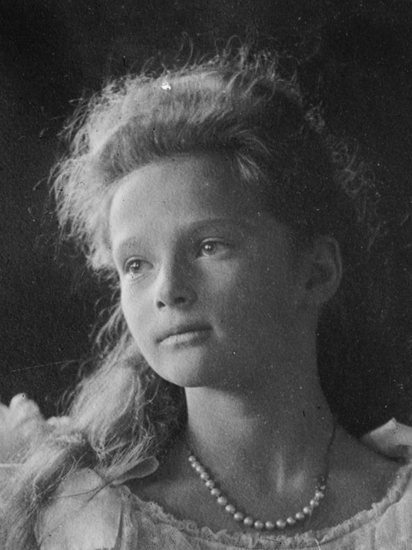 Grand Duchess Tatiana Nicolaevna Romanova, second child of Tsar Nicholas II and Empress Alexandra: Born 1897 -- Died 1918