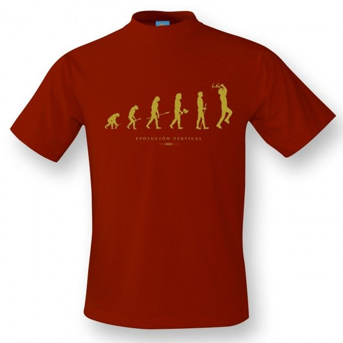 Camiseta Cuello Redondo Hombre Evolucion
