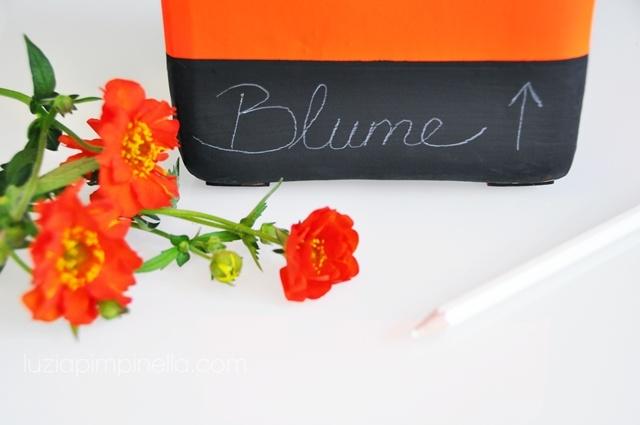 luzia pimpinella: NEON chalkboard vase makeover #DIY #tutorial