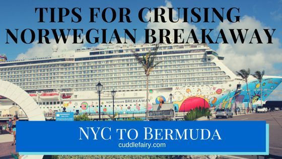 We aren't long home from our amazing 7-day cruise from NYC to Bermuda. In this post, I'm going to share my tips to cruise Norwegian Breakaway.