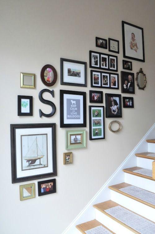 25 beste idee n over trap foto 39 s op pinterest fotowand trap trap muren en trap muur decor - Ingang huis idee ...