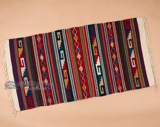 Oaxacan Southwest Zapotec Indian Rug 30x60 (164)
