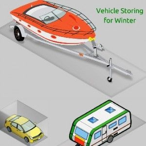 storing your vehicle for winter