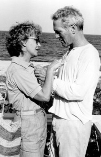 Paul Newman and Joanne Woodward...power couple