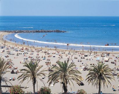 beautiful beach of Playa De Las America - Tenerife