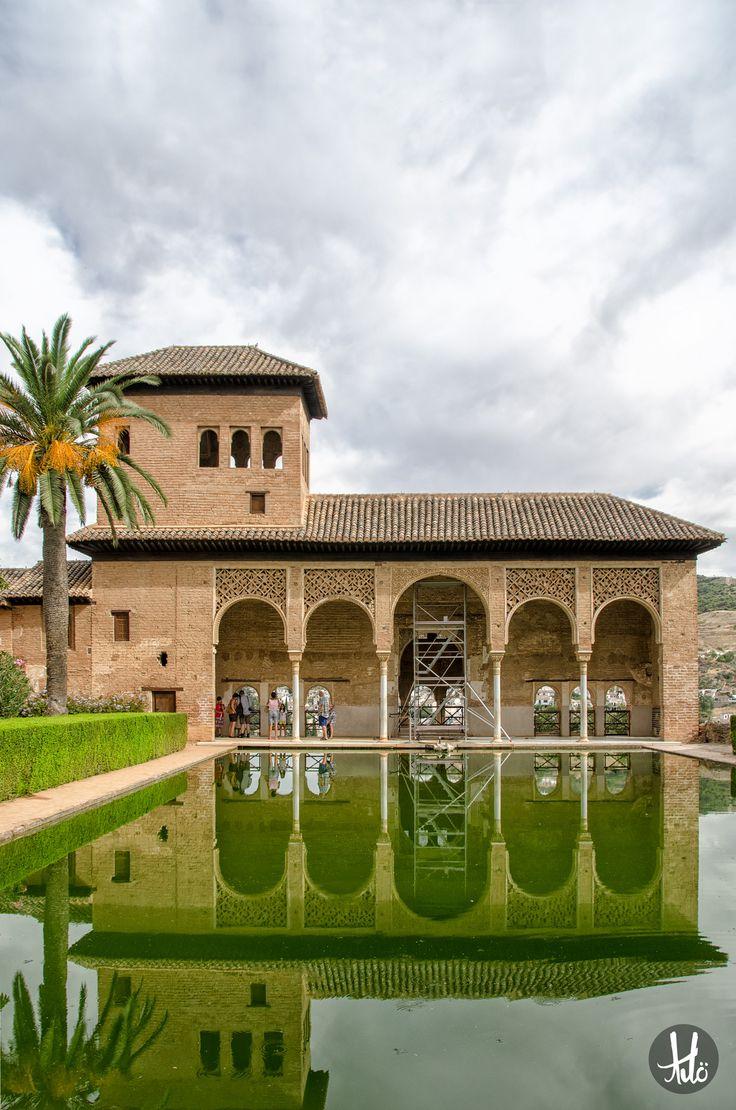 Restored Moorish historical site in Andalusia, Spain.