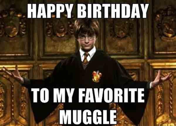 Harry Potter Happy Birthday Meme Happy Birthday Harry Potter Harry Potter Birthday Meme Harry Potter Funny
