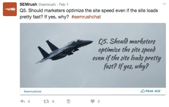 25 Best Twitter Chats for Marketers - #SEMrushchat
