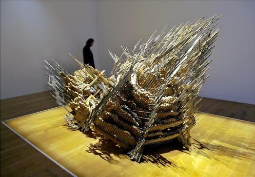 Musée Granet : Des sculptures sont aussi exposées .