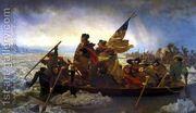 Washington Crossing the Delaware 1851  by Nicolas-Bernard Lepicier