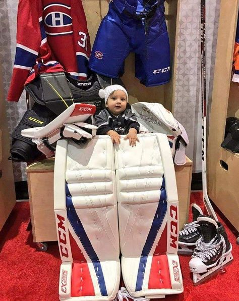Carey Price's Daughter