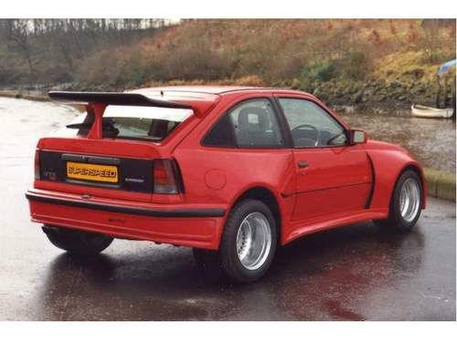 Opel Kadett / Vauxhall Astra - widebody