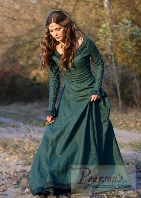 Autumn Princess - medieval clothing renaissance costume