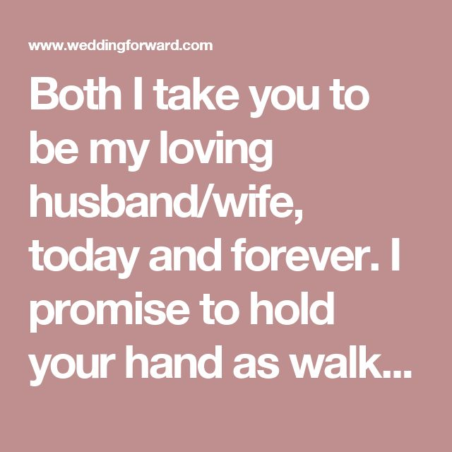Real Wedding Vows Examples To Inspire You