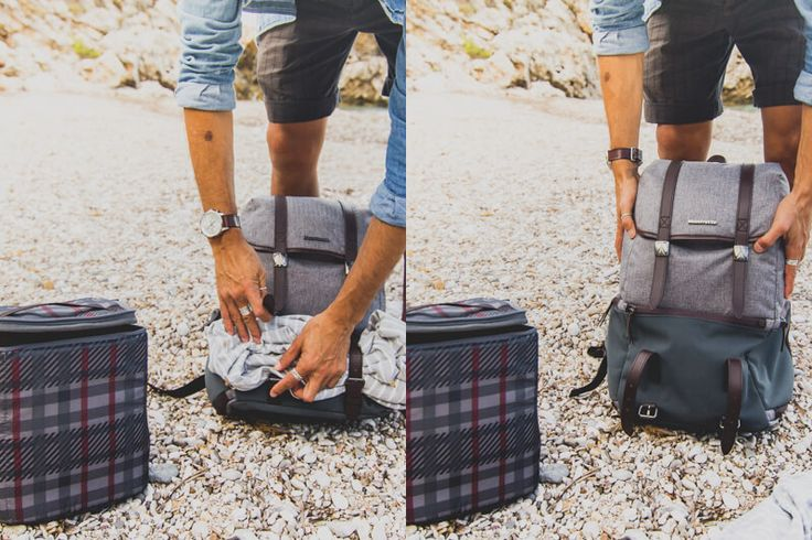 Manfrotto Windsor Backpack in Sardinia with Cédric Dasesson