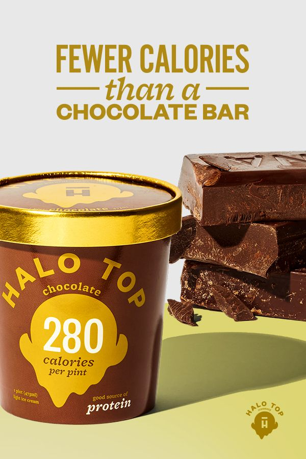 Fewer calories than a chocolate bar