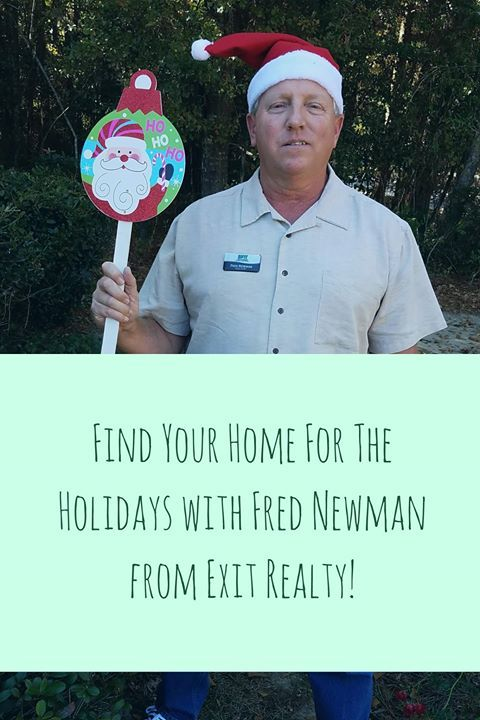 Don't stress about finding a #home during the #holidays! For personal service you deserve from a realtor call Fred Newman Exit Realty Gulf Shores for help! (251) 979-5600