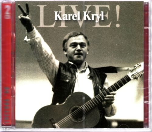Výběrové album zpěváka Karel Kryl - Live! na 2 CD 2006