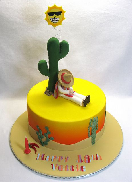 Mexican cake by Creative Cakes by Julie, via Flickr