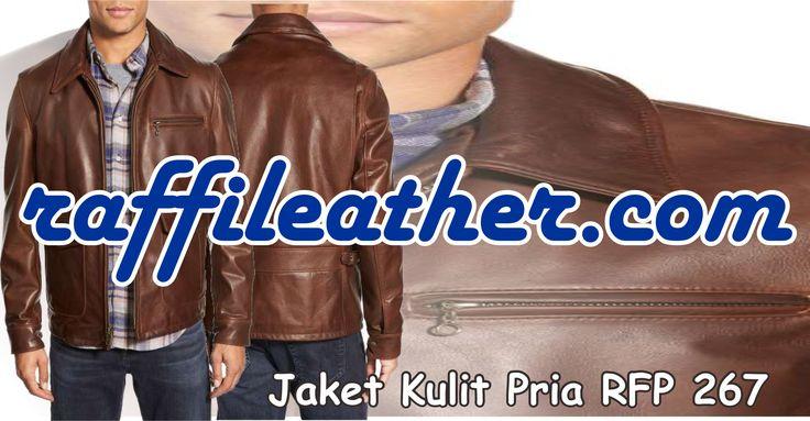 Jaket Kulit Pria RFP 267 ~> https://goo.gl/H32O3a info 085320637888 Pin 5CDC1DFC #Jaketkulit #Jaketkulitpria