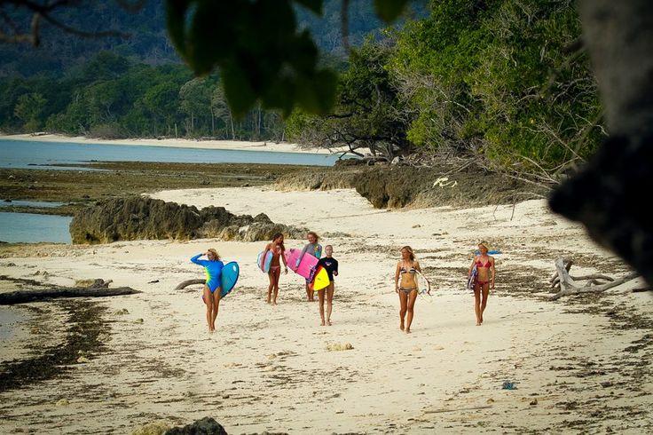 Go Go.. Surfer Girl in action