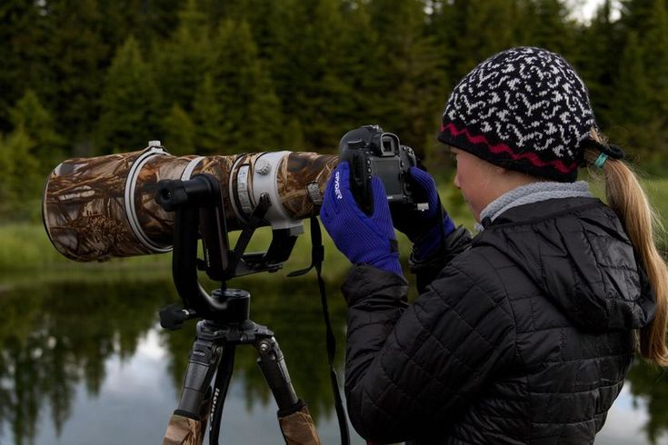 13-year-old conservation photographer is changing minds, one animal photo at a time. Photo: Ashleigh Scully behind the lens.