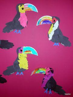 Tippytoe Crafts: Toucans!